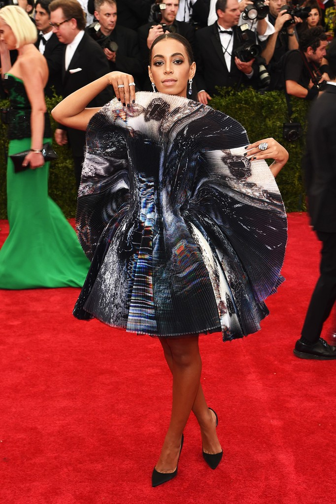 """Solange Knowles attends the """"China: Through The Looking Glass"""" Costume Institute Benefit Gala"""