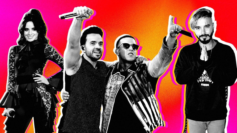 Camila Cabello, Luis Fonsi, Daddy Yankee and J Balvin