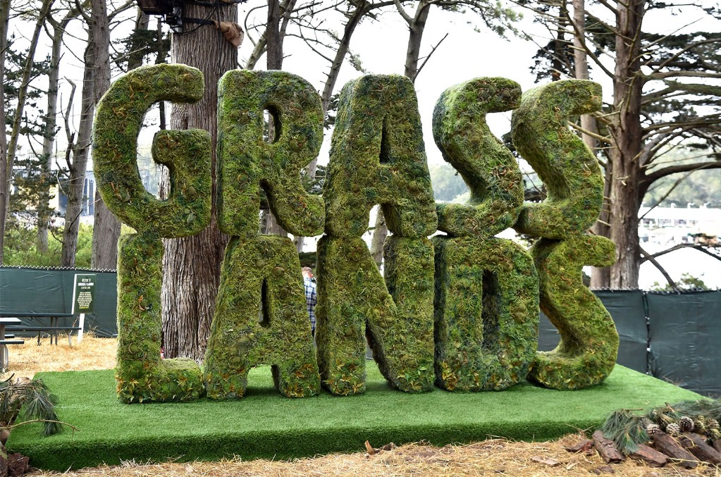 Grass Lands sign is seen during the 2018 Outside Lands Music And Arts Festival at Golden Gate Park on Aug. 10, 2018 in San Francisco.
