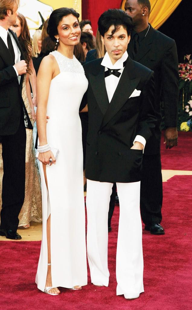 Manuela Testolini and Prince