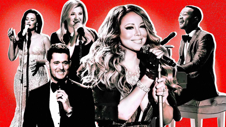 Kacey Musgraves, Michael Bublé, Kelly Clarkson, Mariah Carey and John Legend