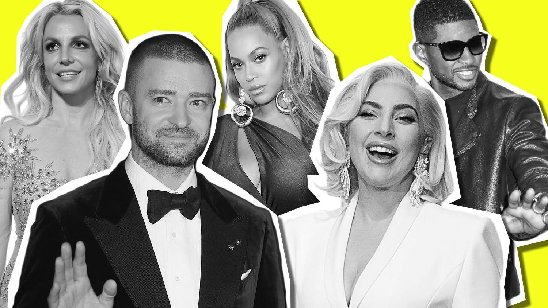 Britney Spears Beyonce Justin Timberlake 21st Century Pop