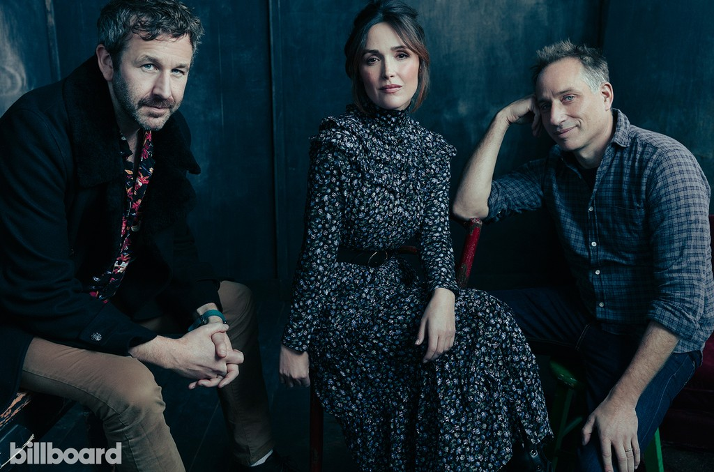 Chris O'Dowd, Rose Bryne and Jesse Peretz of 'Juliet, Naked'