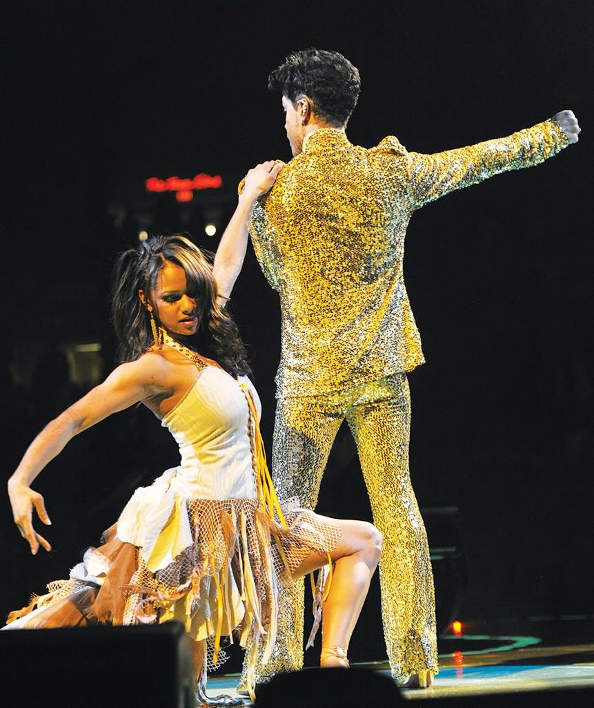 Misty Copeland and Prince