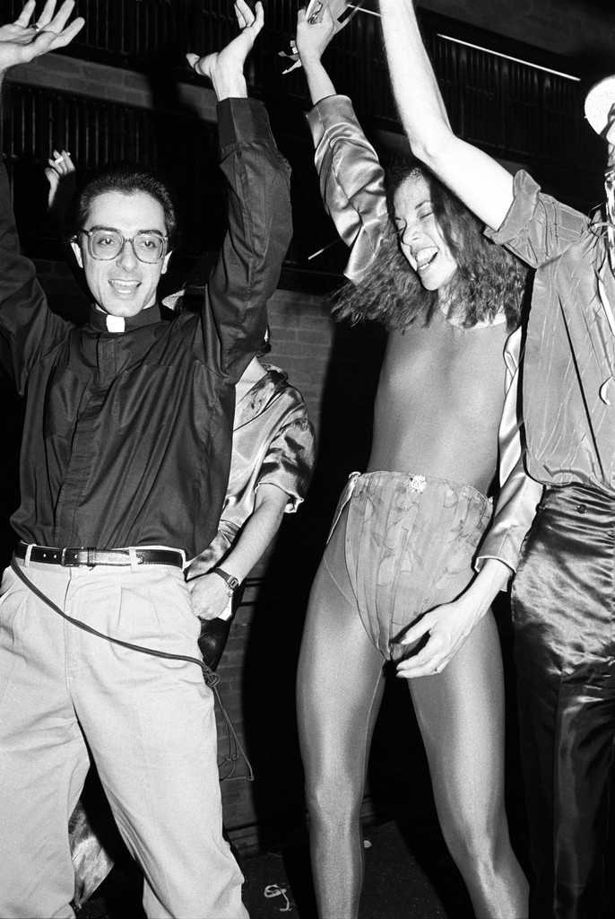 Guests attend a New Year's Eve party at Studio 54 on Jan. 1, 1979 in New York.