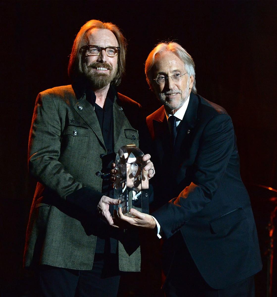Tom Petty and Neil Portnow