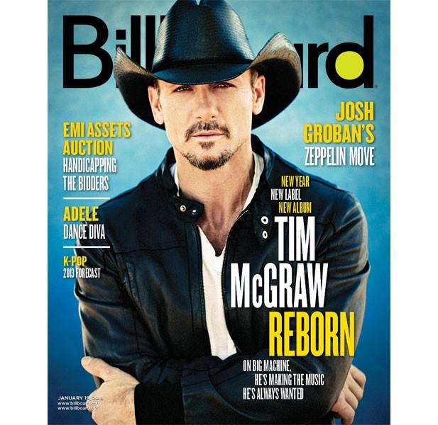 Tim McGraw Billboard Cover Jan. 2012