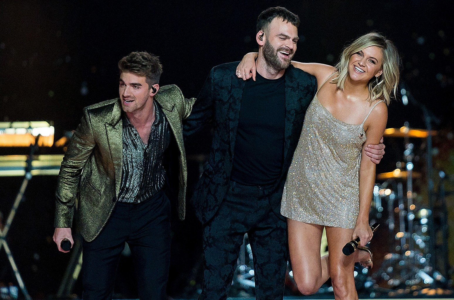 Andrew Taggart, Alex Pall and Kelsea Ballerini