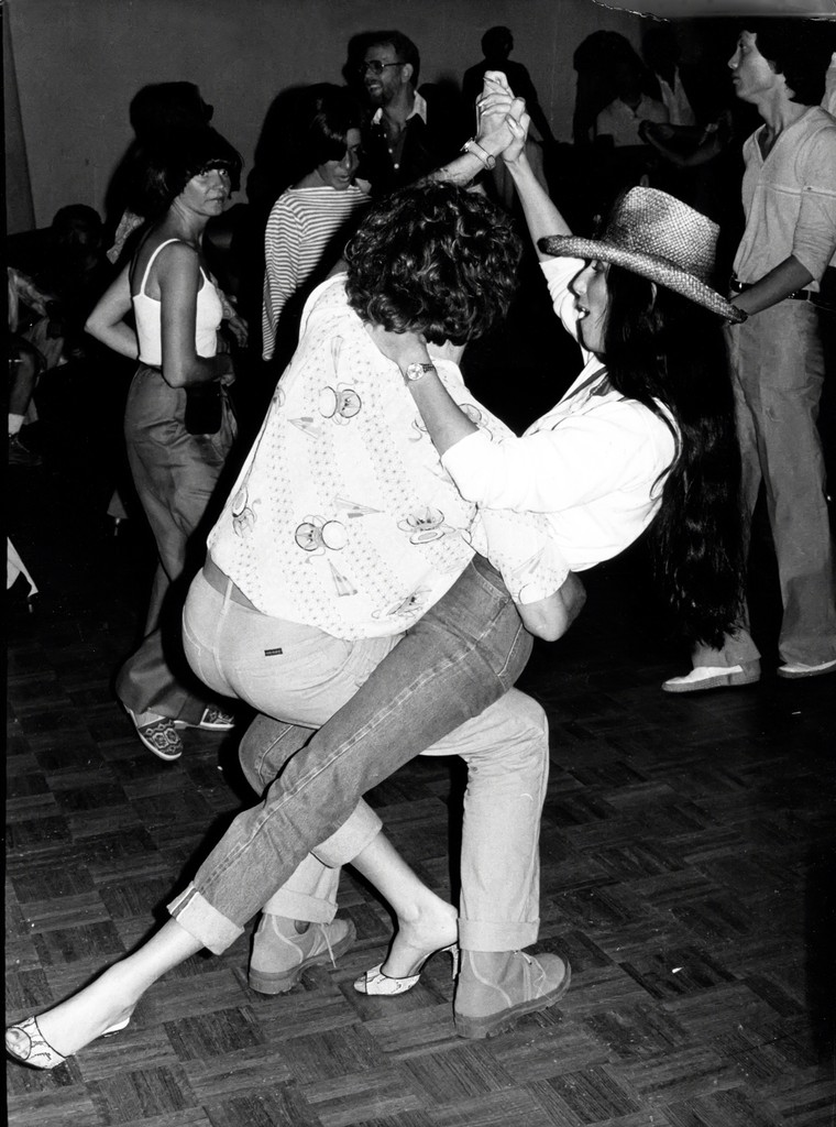 Cher and Howard Himelstein at Studio 54 circa 1977 in New York City.