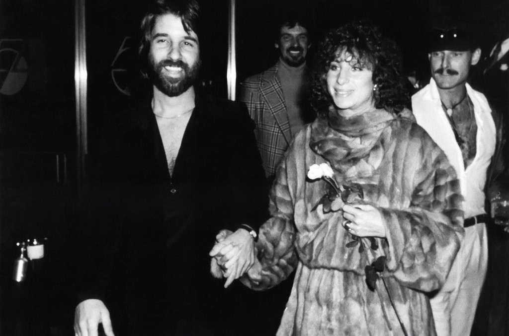 Barbra Streisand and Jon Peters at Studio 54 circa 1977 in New York City.