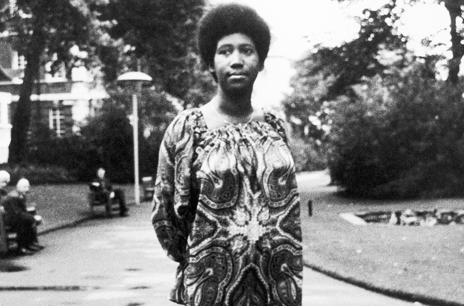 Aretha Franklin photographed on July 28, 1970.