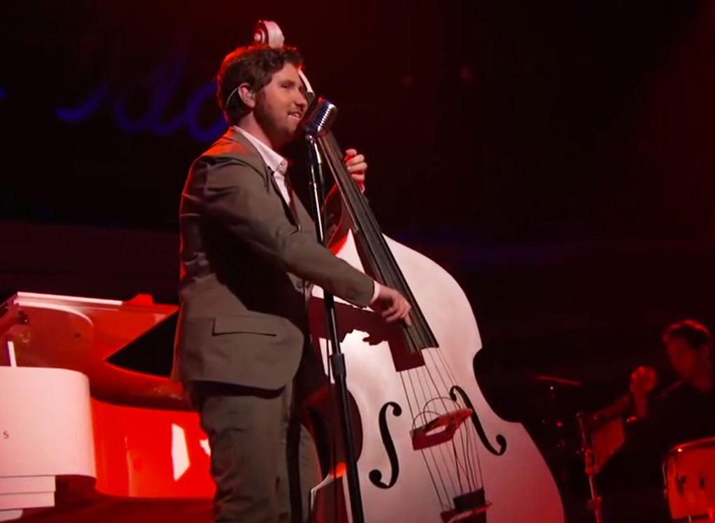 """Casey Abrams performing """"Nature Boy"""" on American Idol."""