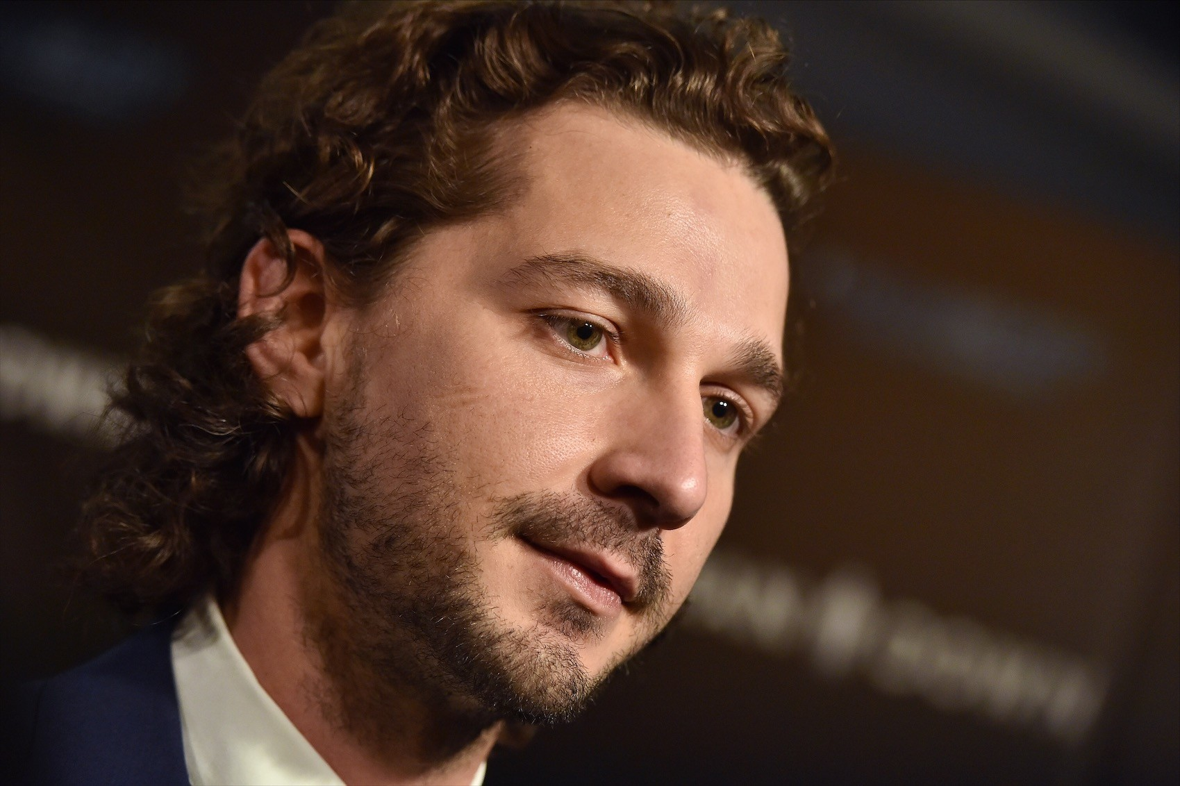 Shia LaBeouf attends the premiere of 'Man Down' at ArcLight Hollywood on Nov. 30, 2016 in Hollywood, Calif.