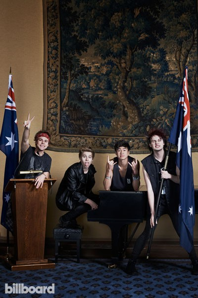 5 Seconds of Summer for Billboard