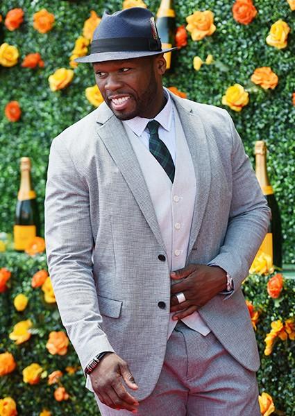 50 Cent attends the 8th Annual Veuve Clicquot Polo Classic