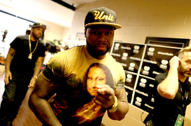 50 Cent at iHeartRadio 2014