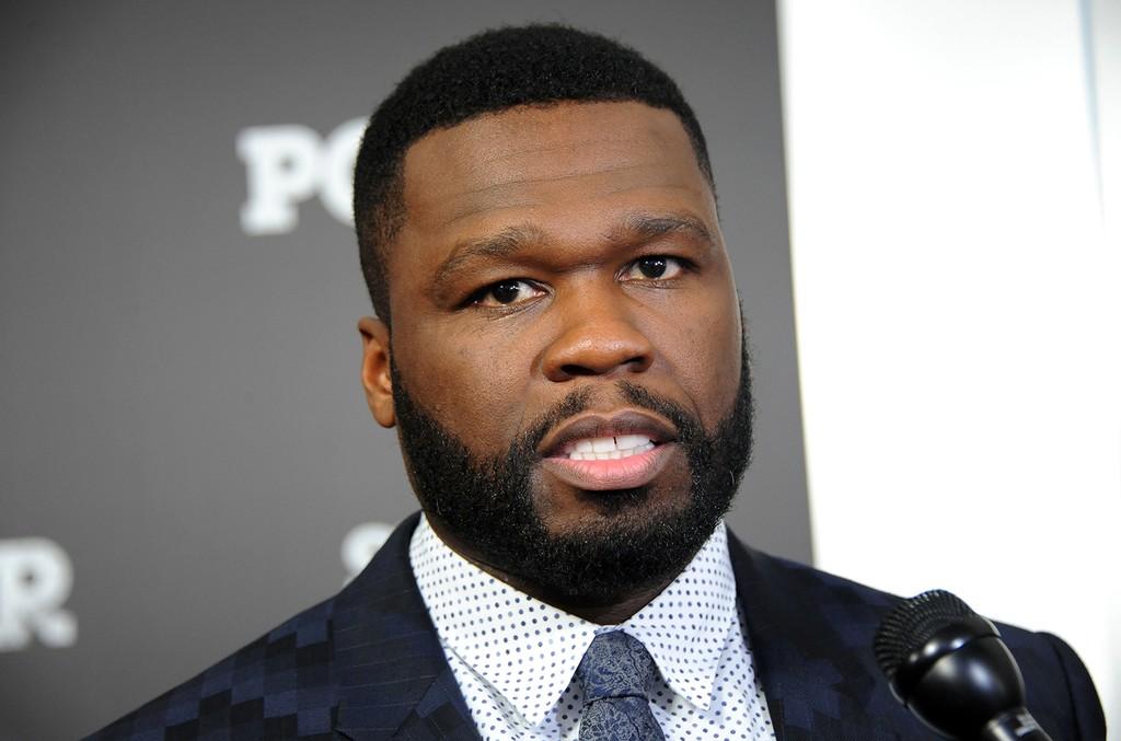 Curtis '50 Cent' Jackson at SVA Theatre