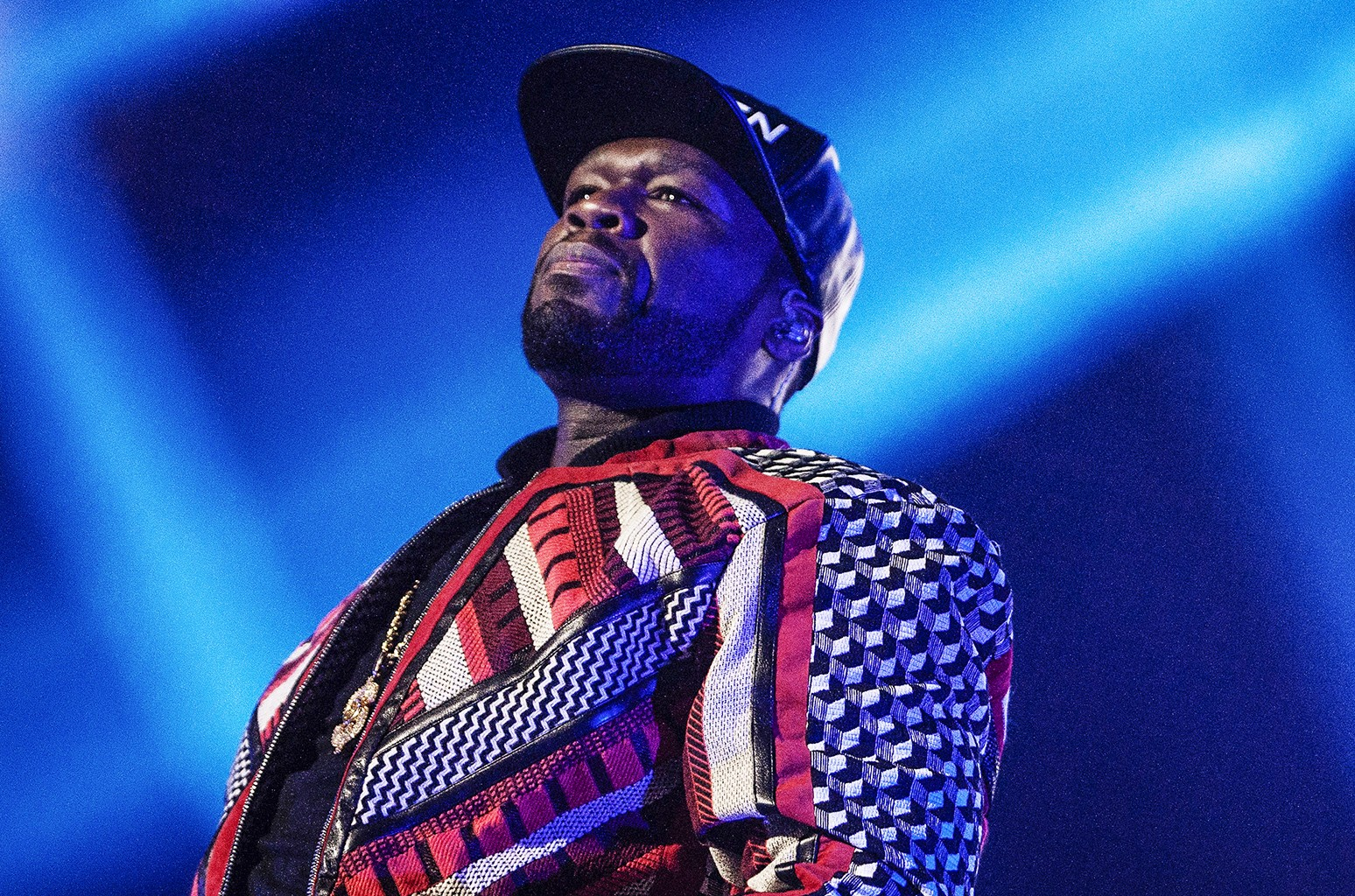 50 Cent performs at The SSE Hydro on Nov. 4, 2015 in Glasgow, Scotland.