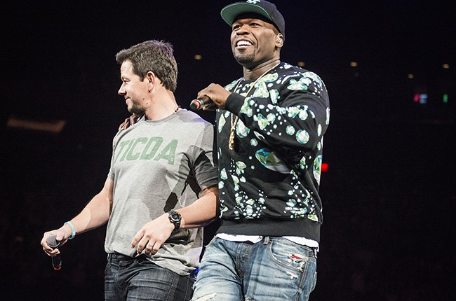 Mark Wahlberg and 50 Cent