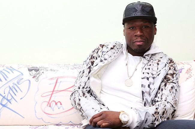 "Curtis ""50 Cent"" Jackson visits Music Choice"