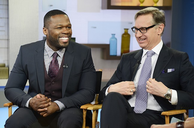 50 Cent and Paul Feig
