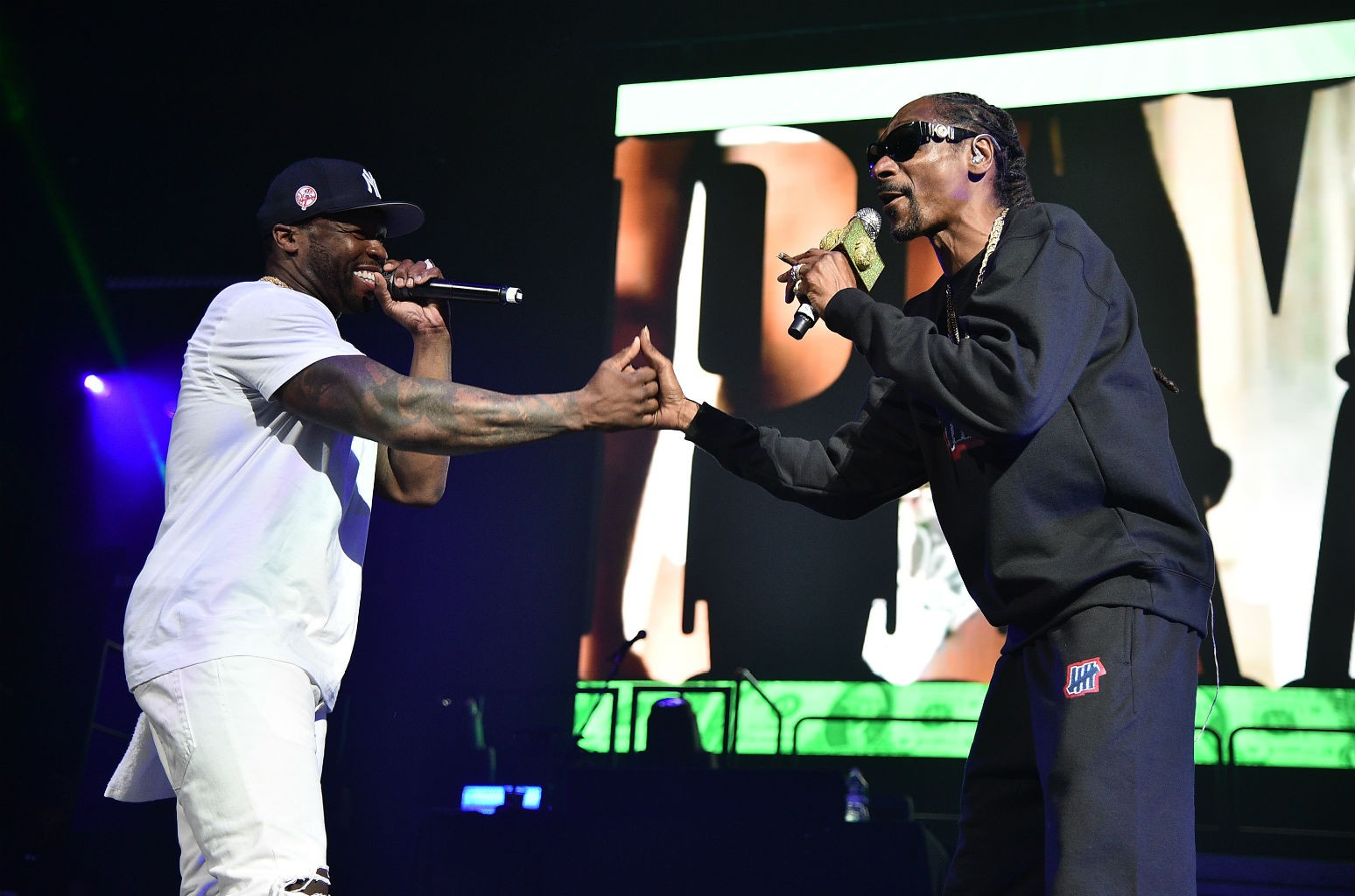 50 Cent Snoop Dogg And T I Run Through The Classics At Brooklyn S Masters Of Ceremony Best Moments Billboard