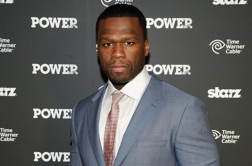 """Executive producer Curtis '50 Cent' Jackson attends the Starz """"Power"""" premiere on June 2, 2014 in New York City."""