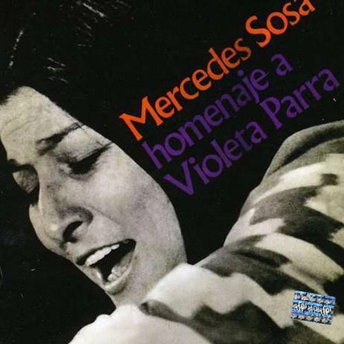 Mercedes Sosa, Homenaje a Violeta Parra