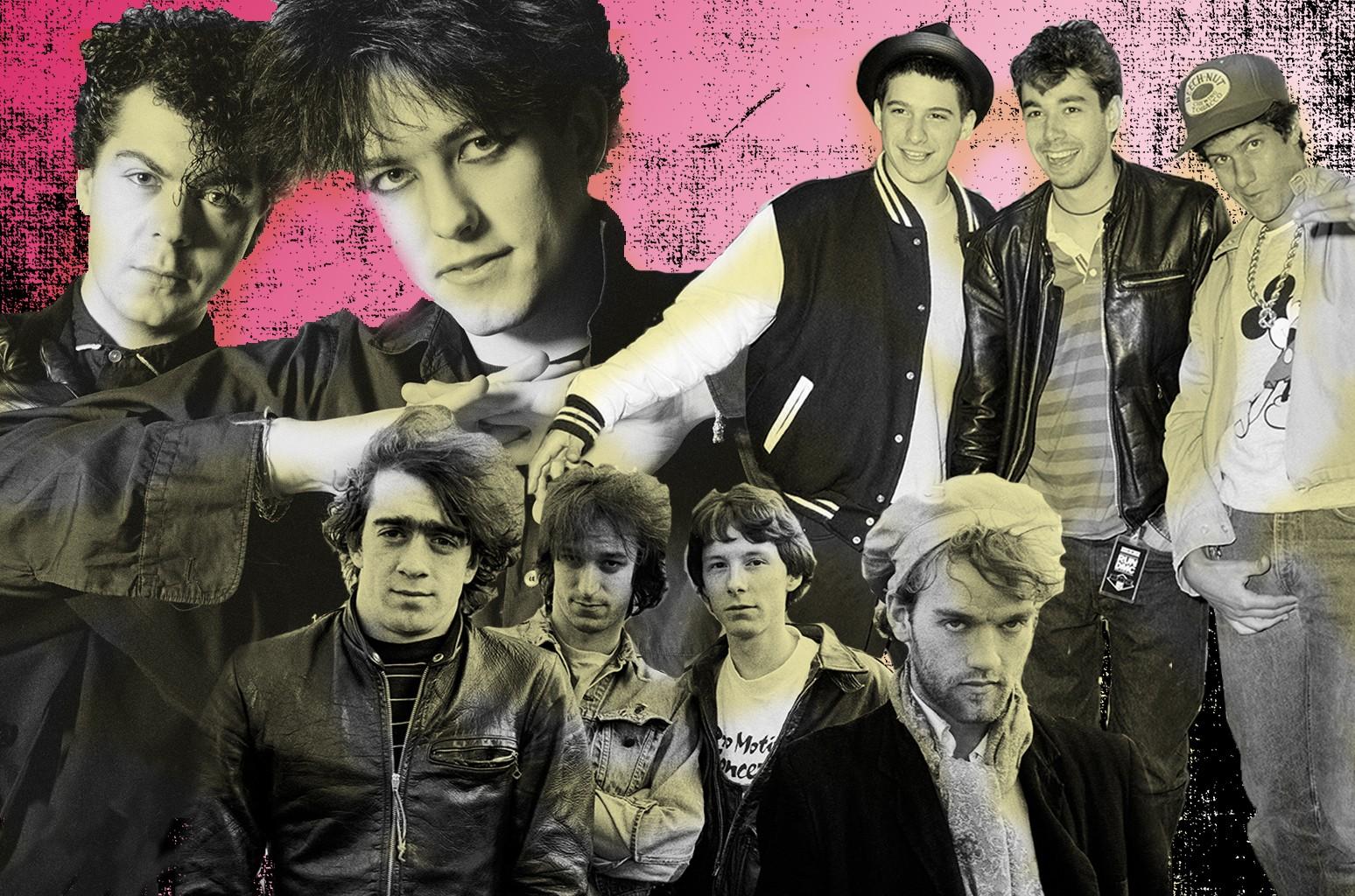 The Cure, R.E.M. & Beastie Boys