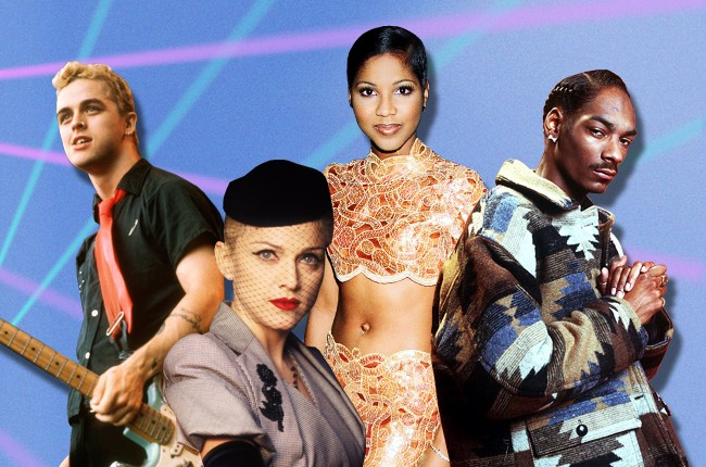 90s Quiz featuring Green Day, Madonna, Toni Braxton, Snoop Doggy Dogg & More