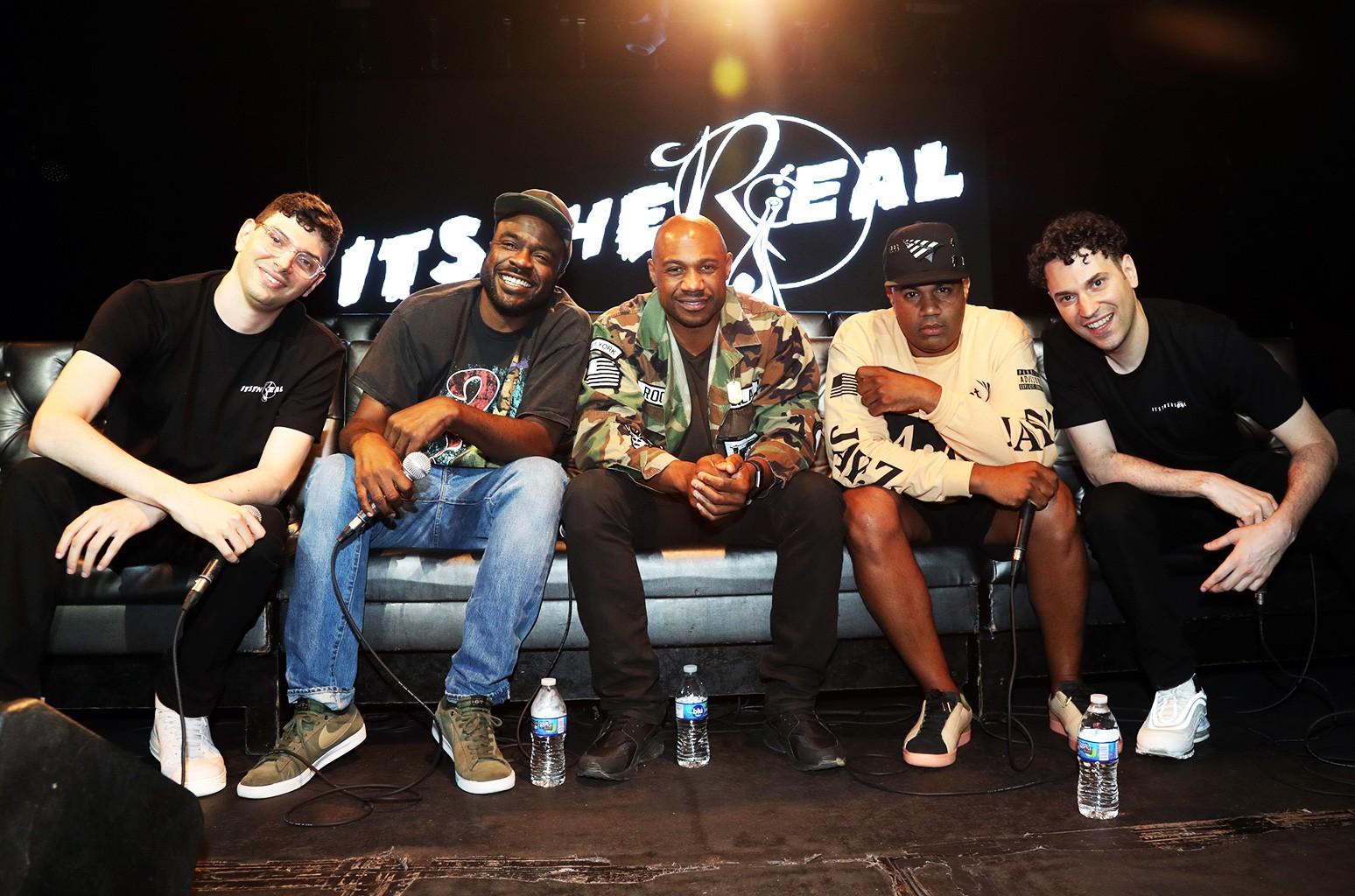 "Jeff Rosenthal, Kyambo ""Hip-Hop"" Joshua, Kareem 'Biggs' Burke, Lenny S., and Eric Rosenthal"