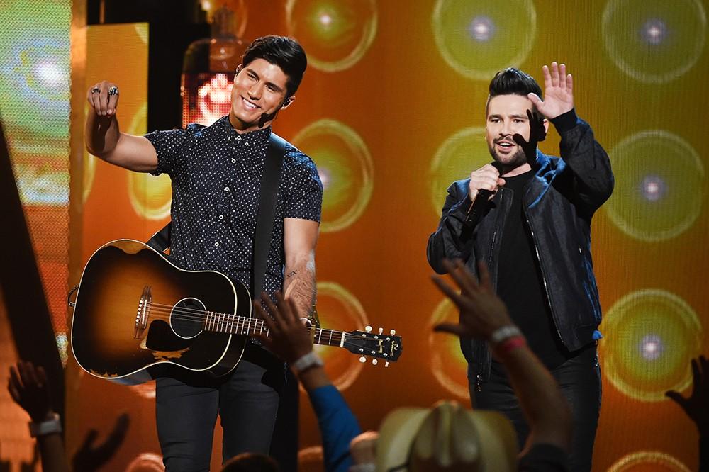 Dan + Shay 2016 American Country Countdown Awards