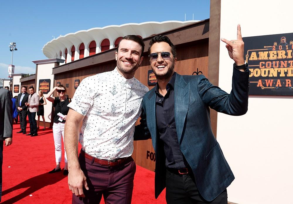 Sam Hunt and Luke Bryan  2016 American Country Countdown Awards
