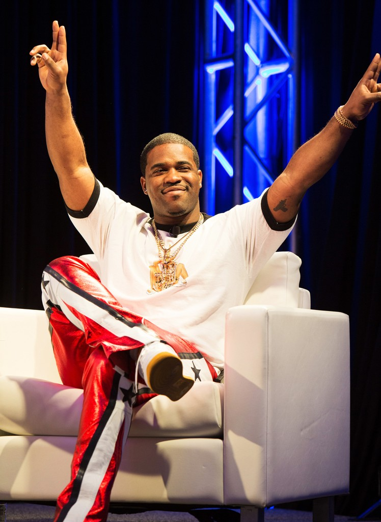 A$AP Ferg speaks onstage at 'Digital Revolution: A Look at Music's New Frontier' during 2017 SXSW Conference and Festivals at Austin Convention Center on March 15, 2017 in Austin, Texas.