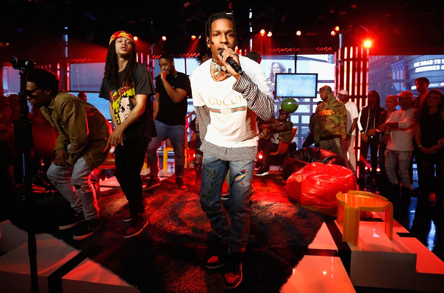 A$AP Rocky and A$AP Mob