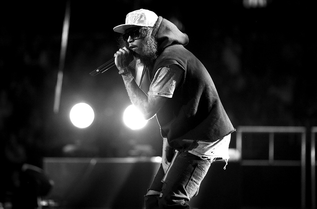 Ab-Soul performs in 2015