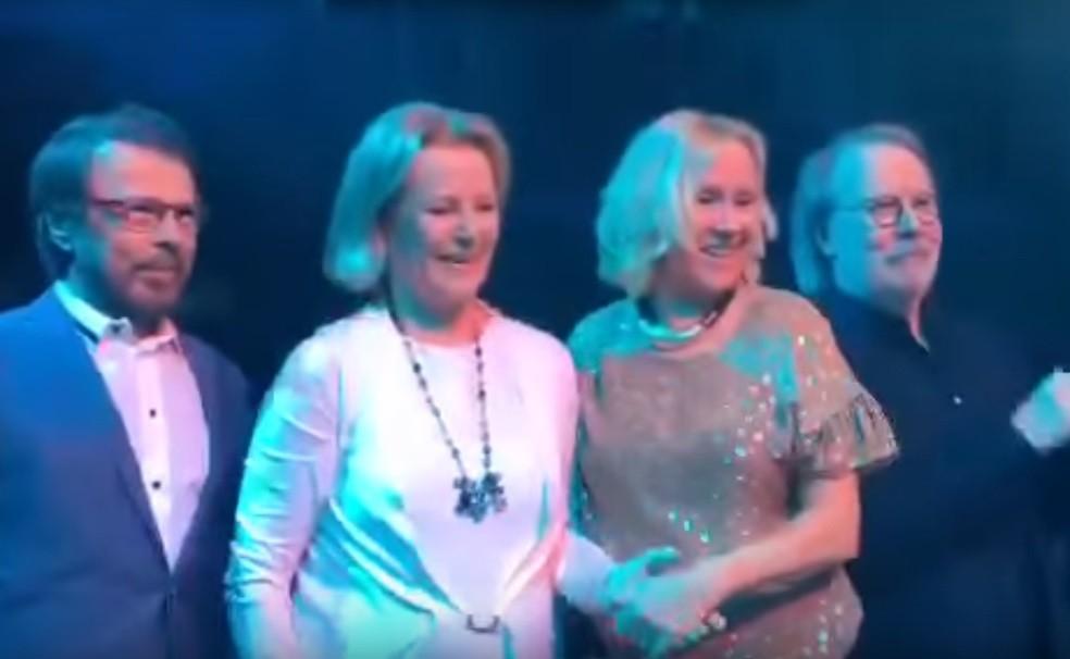 "ABBA at ""Mamma Mia! The Party"""