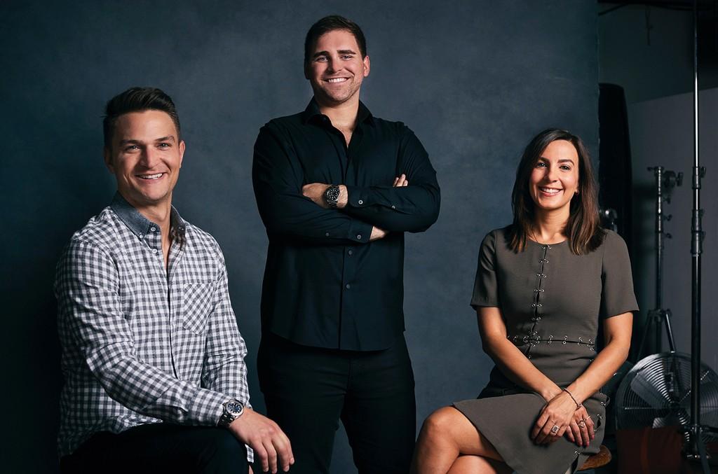 Adam Wescott, Scott Fisher and Lisa Filipelli