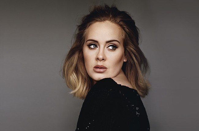Adele photographed in 2015.