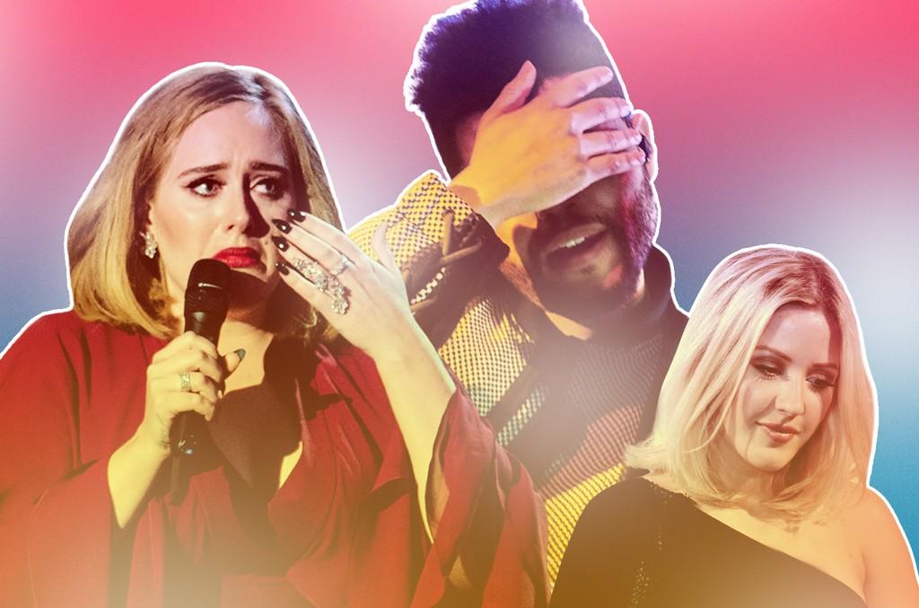 Adele, The Weeknd & Ellie Goulding