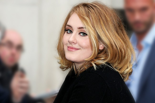 Adele seen at BBC Radio 2