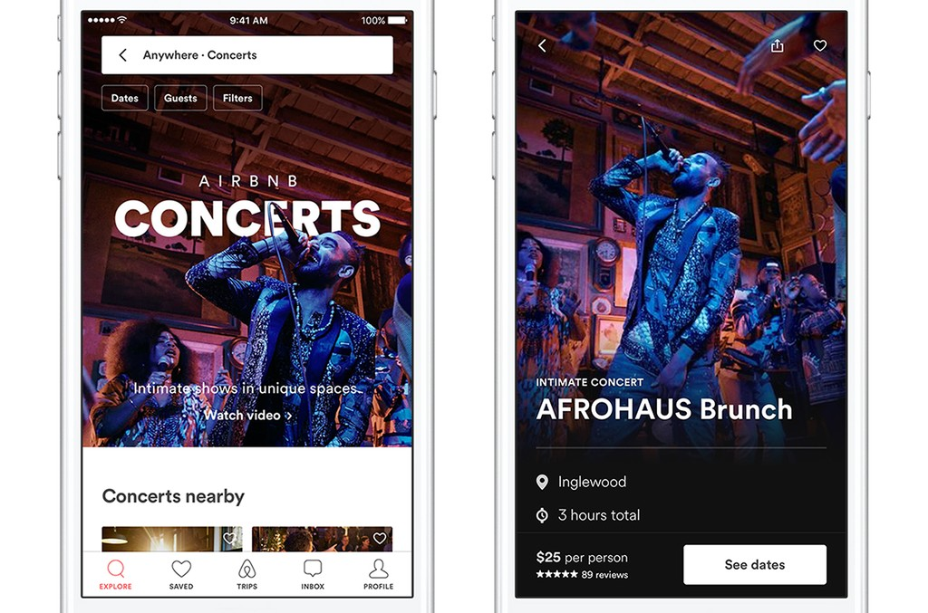 Airbnb Concerts