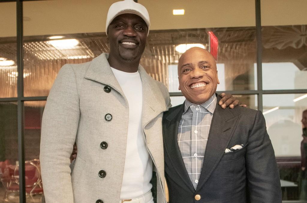 Akon and Kedar Massenburg