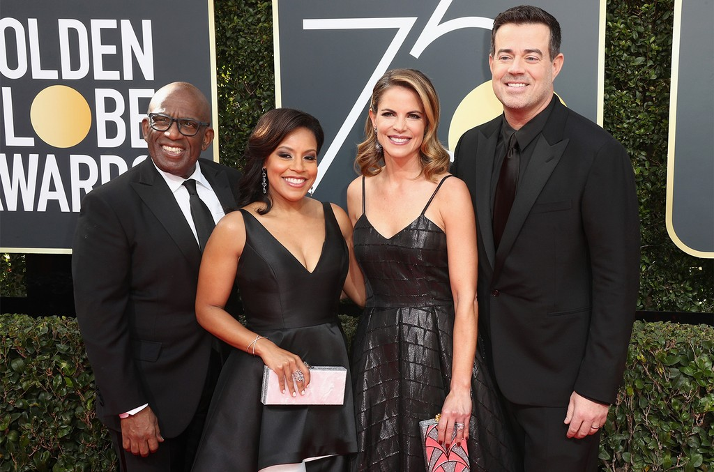 Al Roker, Sheinelle Jones, Natalie Morales and Carson Daly
