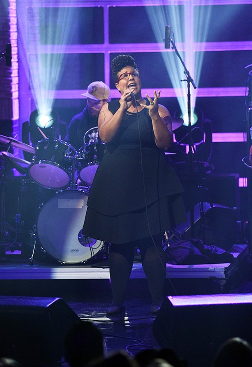 """Alabama Shakes performs on """"The Late Show with Stephen Colbert"""""""