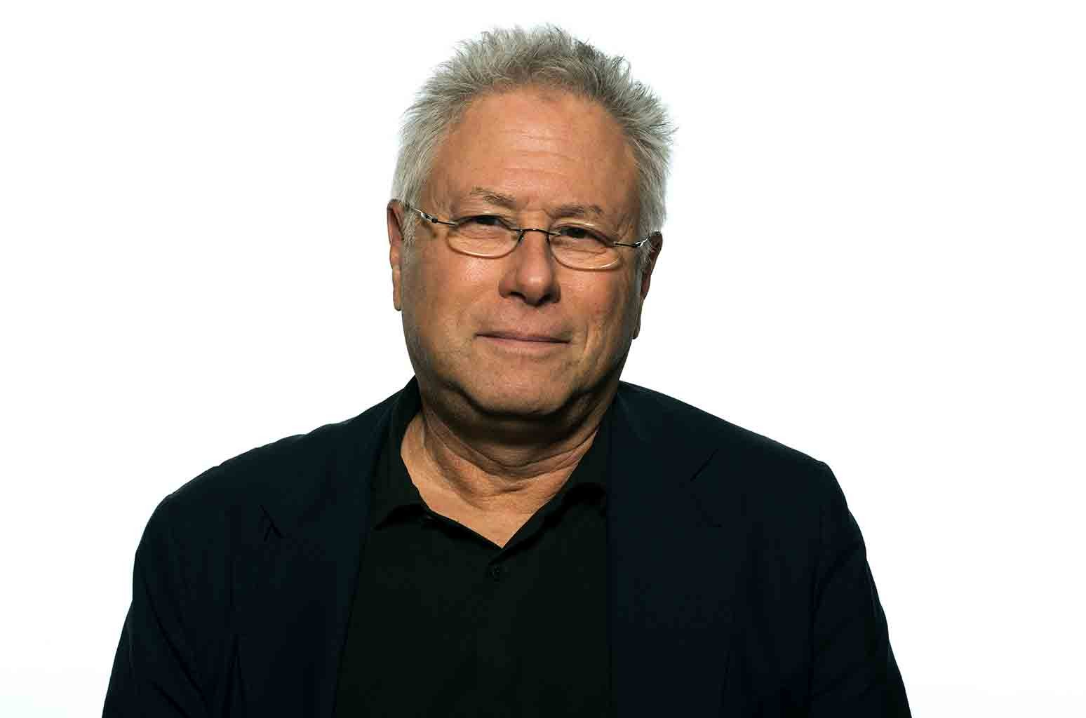 """Alan Menken appears at the press junket for """"Beauty and the Beast,"""" at the Montage Hotel on March 5, 2017 in Beverly Hills, Calif."""