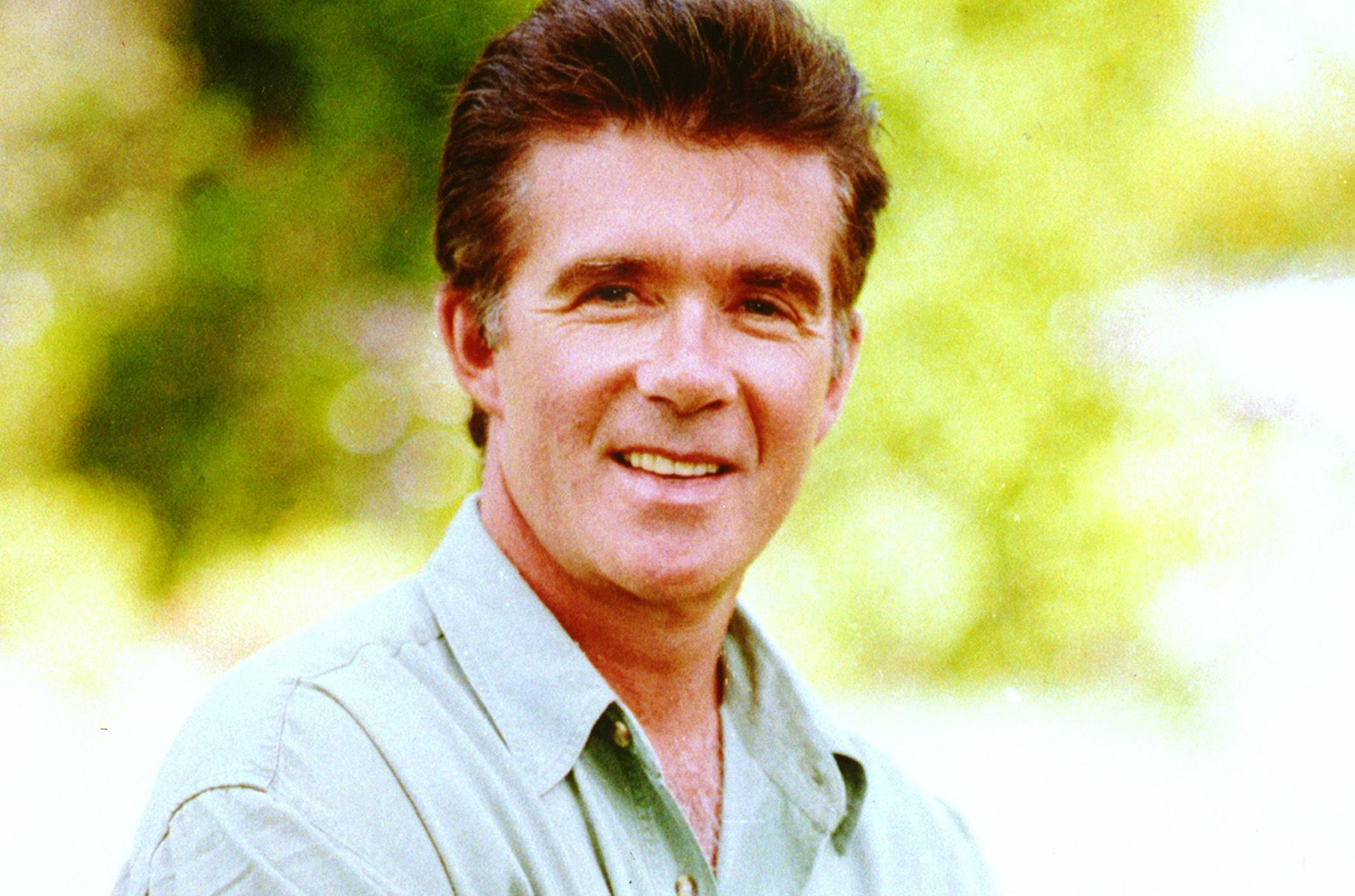 Alan Thicke poses during an interview in Los Angeles in May, 1992.