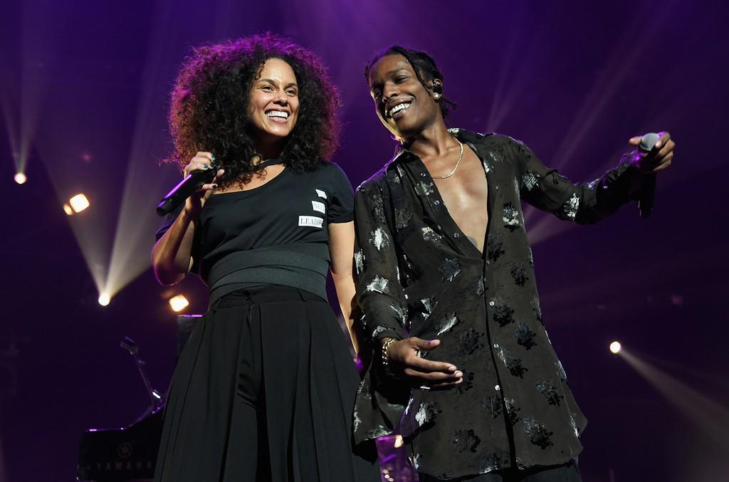 Alicia Keys and ASAP Rocky