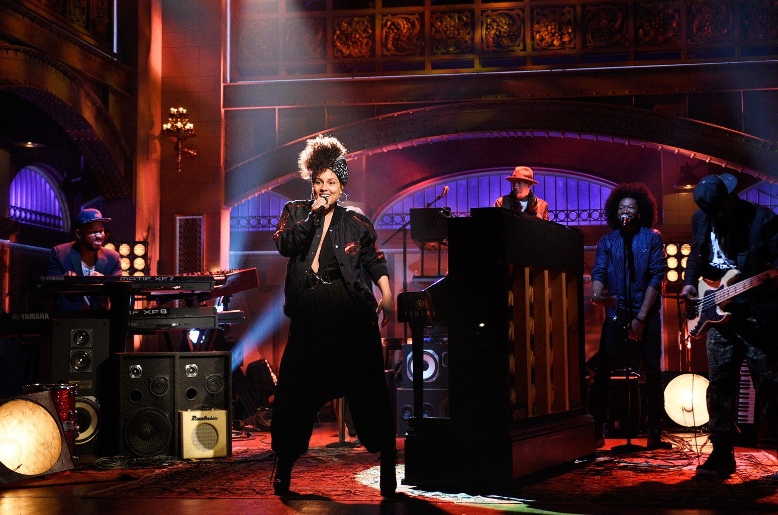 Alicia Keys Saturday Night Live