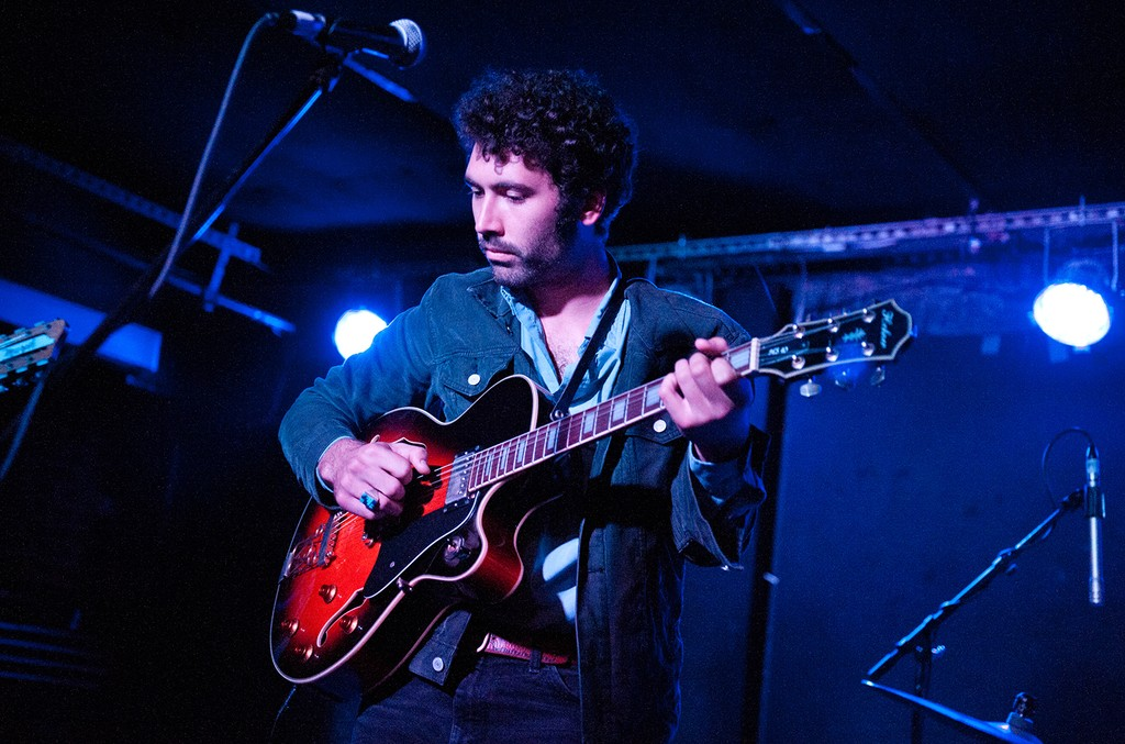 Miles Michaud of Allah-Las, 2013